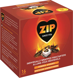 ZIP™ Individually Wrapped Firestarters