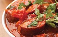 Pork, Chorizo and Cannellini Bean Stew